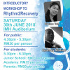 Workshop to Rhythm 2 Recovery 2018