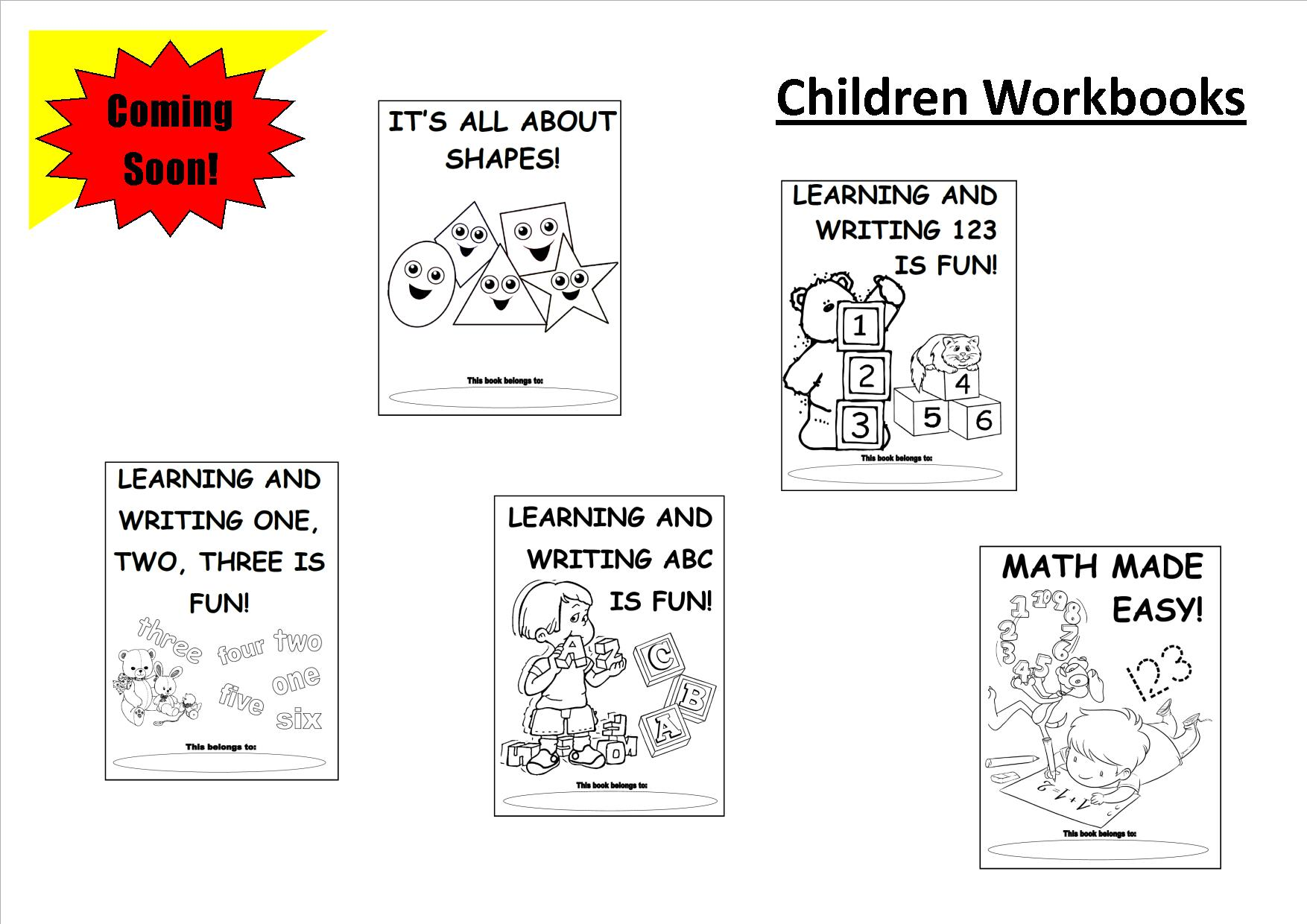 CHILDRENWORKBOOKS