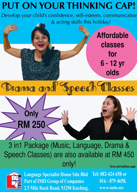 Drama and Speech Classes