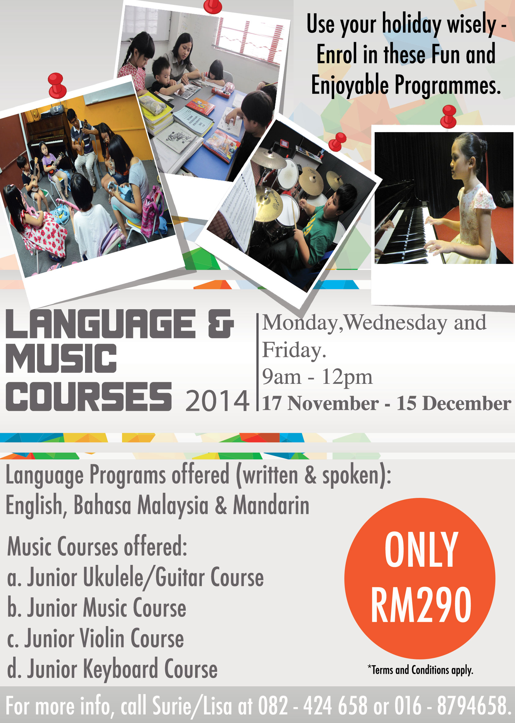 Language and Music Courses