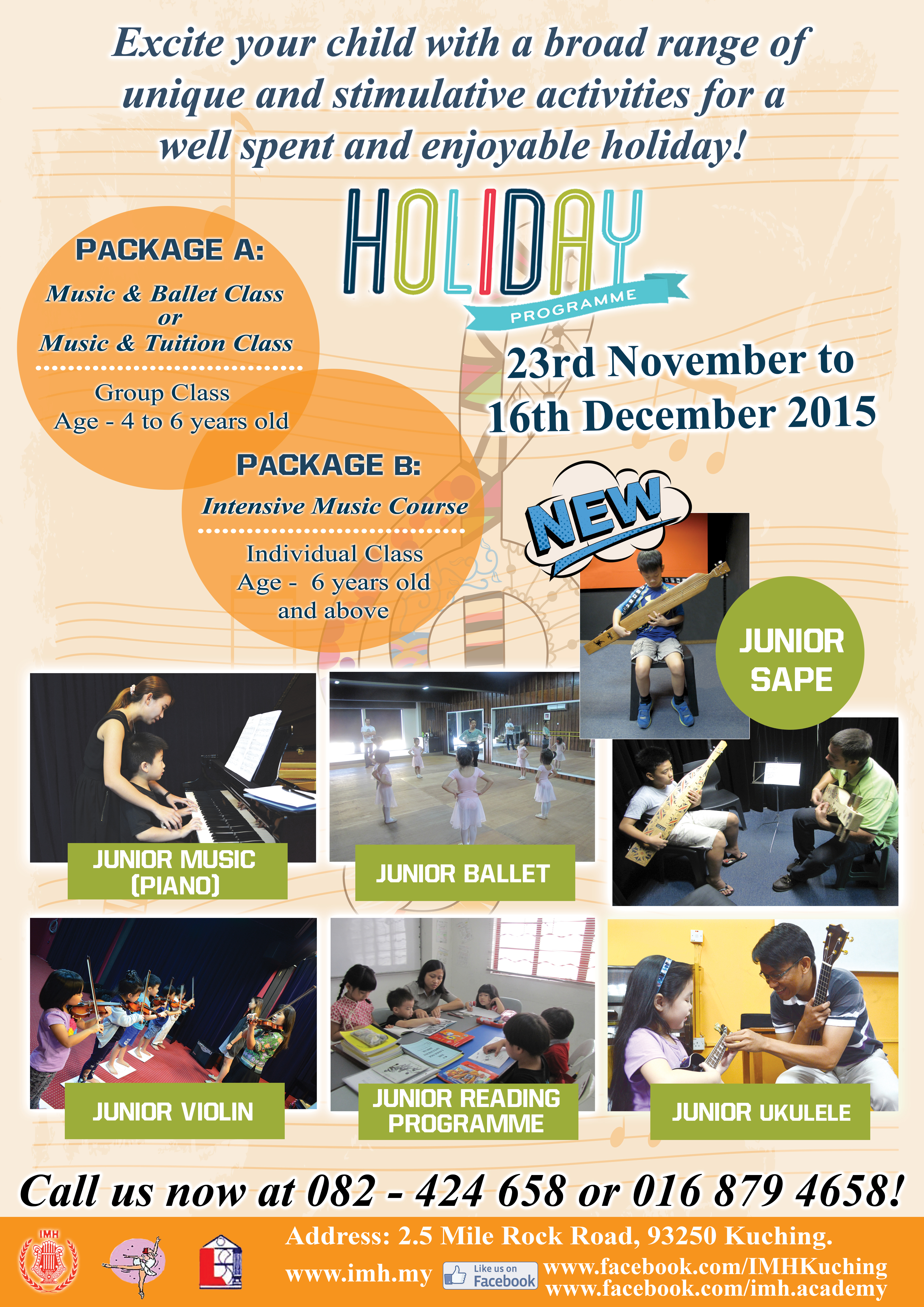 HOLIDAY PROGRAMME 2015